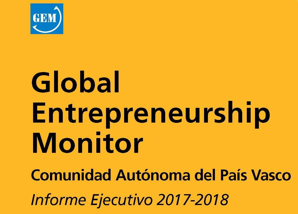 Presentación del Informe GEM Pais Vasco 2017/2018