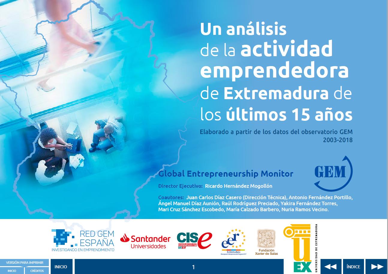Informe GEM Extremadura