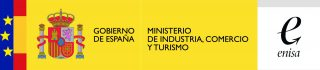 Logo Gob-Ministerio-ENISA color